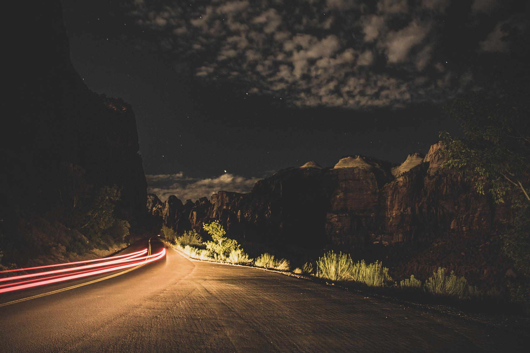 Route la nuit